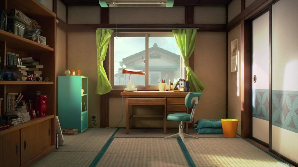 空荡荡的房间,少了哆啦A梦