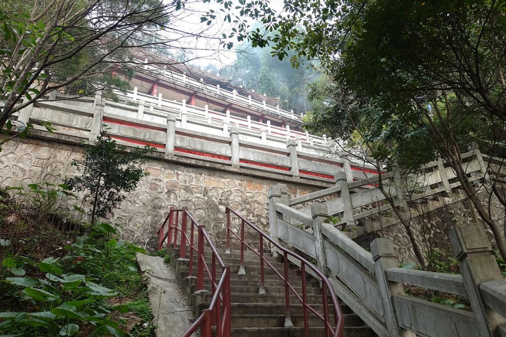 寺庙的台阶