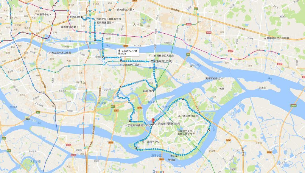 Google线路规划数据