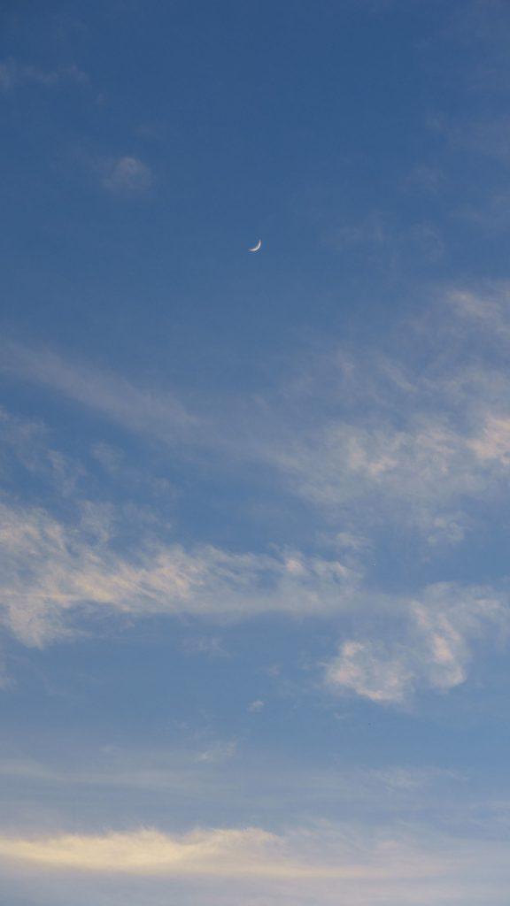 下午的月亮
