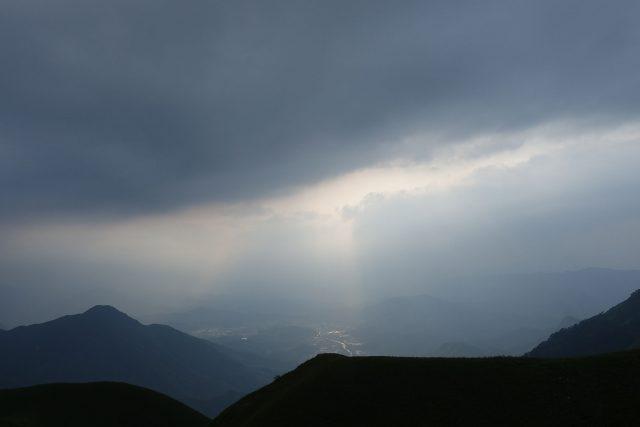 武功山的几缕阳光