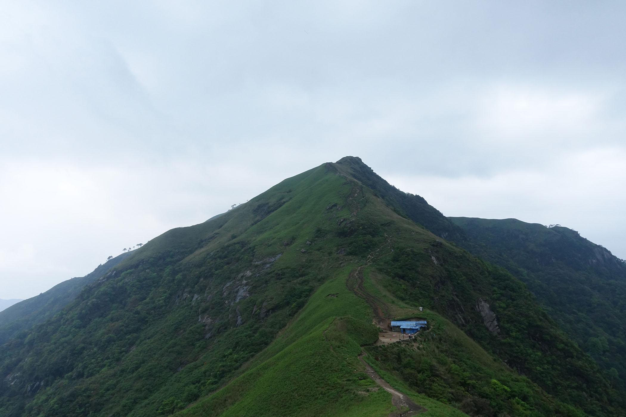 武功山绝望坡