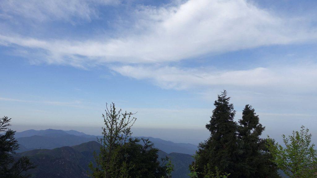 衡山的南天白云
