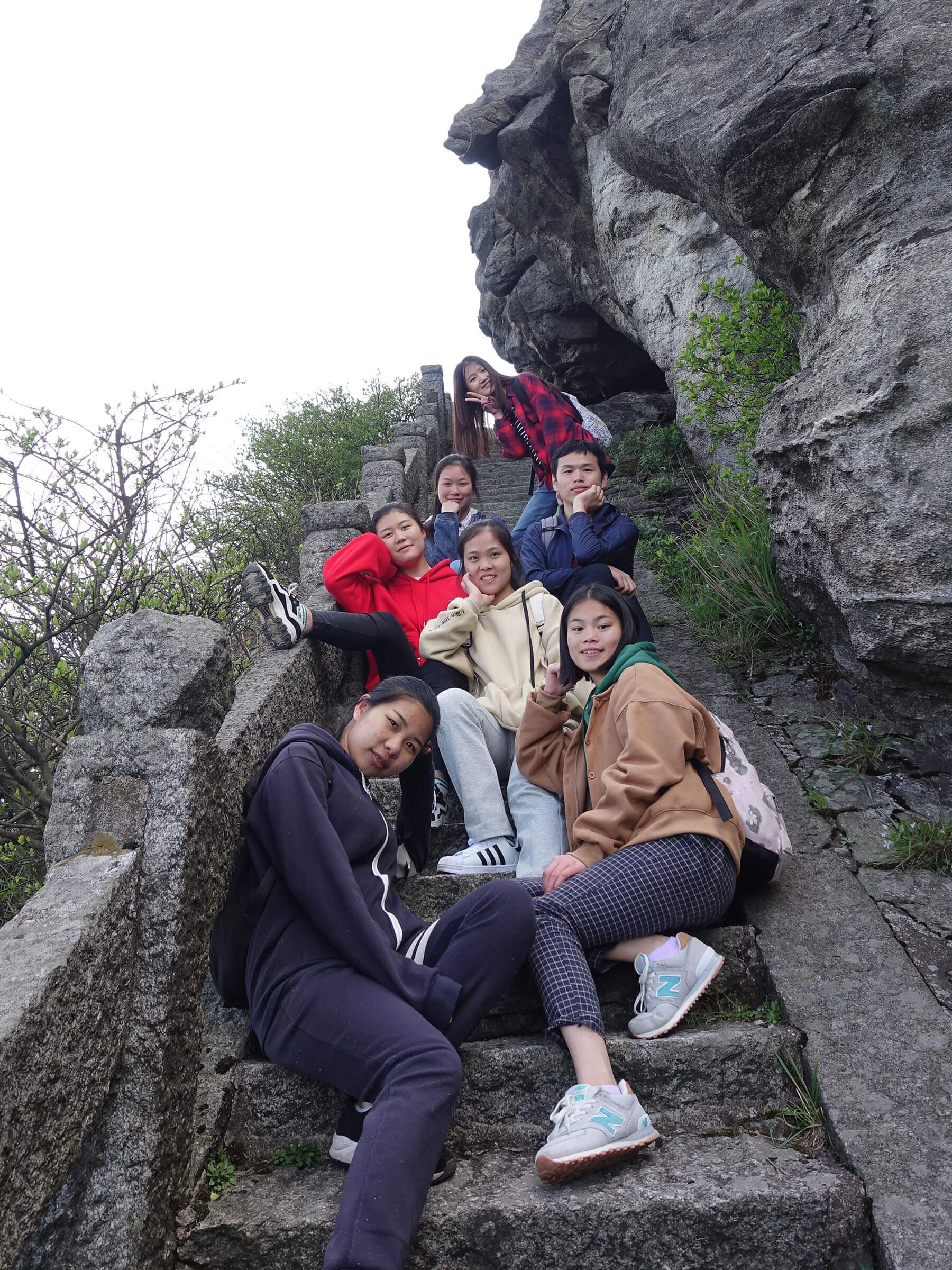 衡山会仙桥的合照