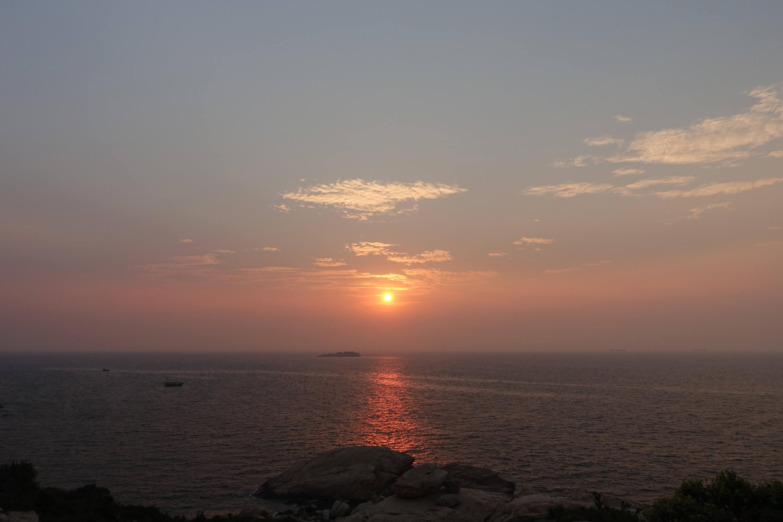 庙湾岛最佳日落