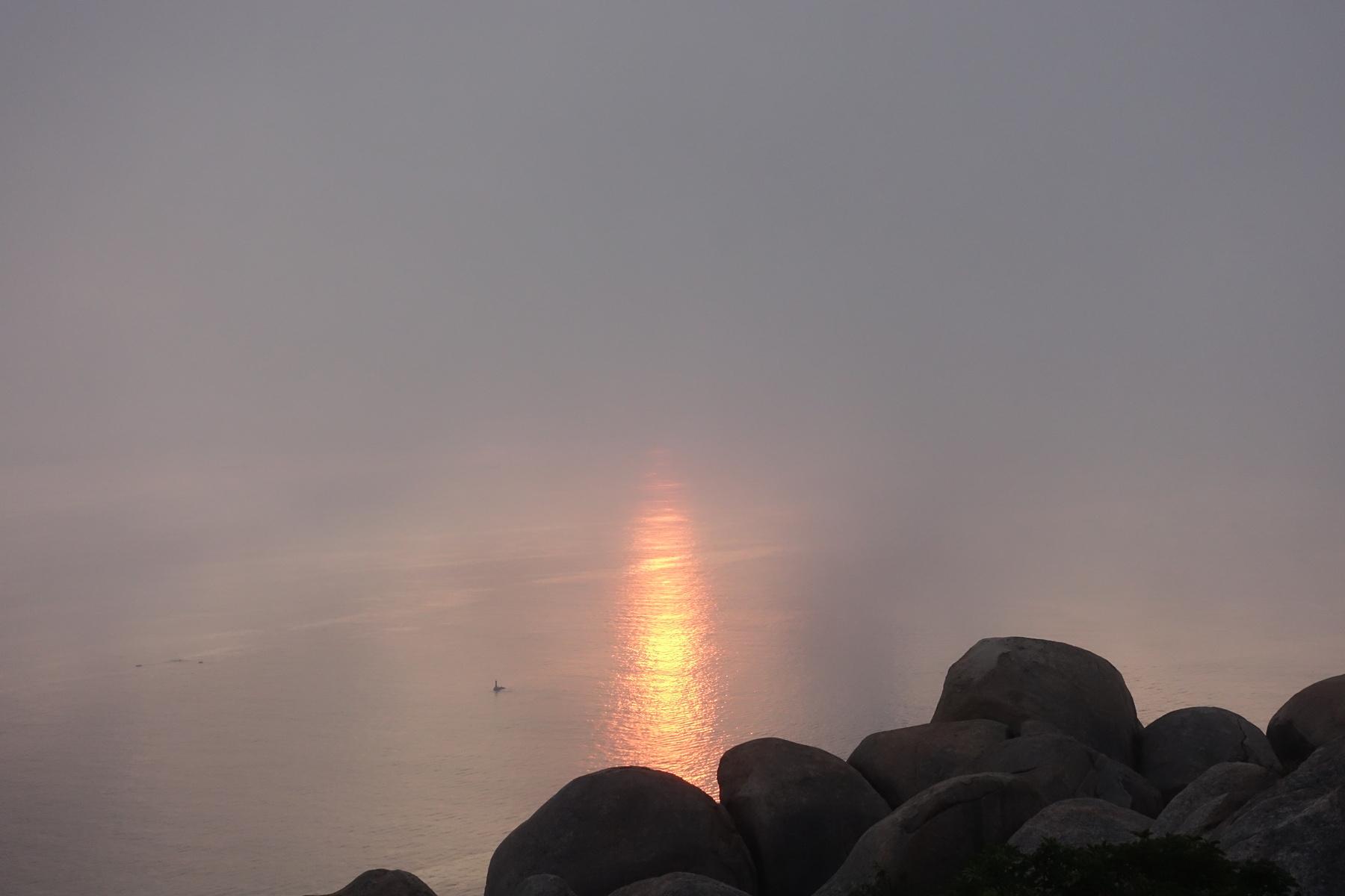 外伶仃岛 看不见的日出