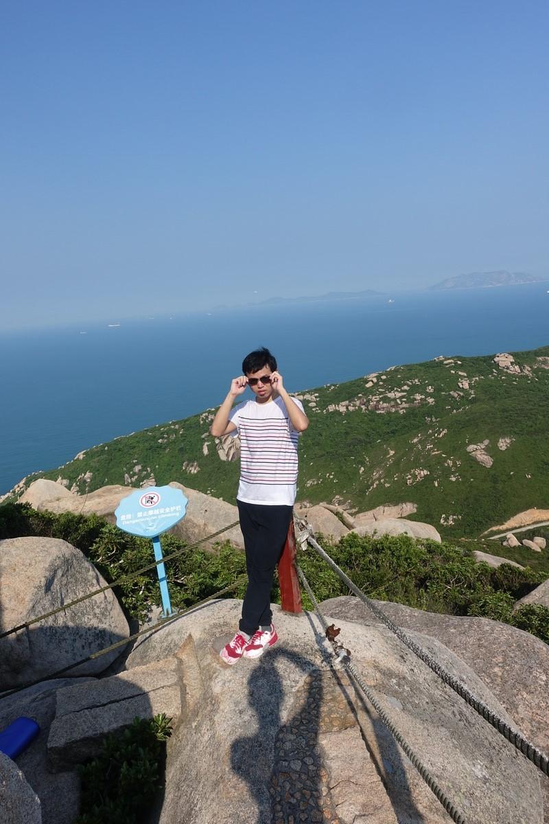 外伶仃岛 制高点的眺望
